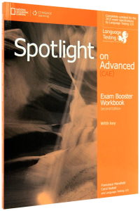 Spotlight on CAE Exambooster with Answer Key & Exambooster Audio CD