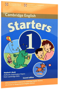 Cambridge Young Learners English Tests Starters 1 Students Book (fara CD Audio)