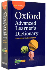 Oxford Advanced Learner's Dictionary 9 th edition. iSpeaker and iWriter on DVD