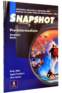 Snapshot Pre-Intermediate clasa  a 7-a. Students' Book