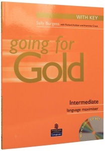 Going for Gold Intermediate Language Maximiser with Answer Key with Audio CD