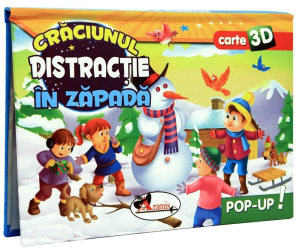 Craciunul.Distractie in zapada - Pop Up