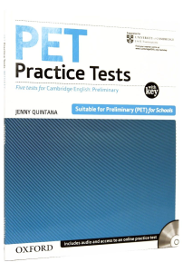 PET Practice Tests:Practice Tests with Key and Audio CD Pack : Five Practice Tests for the Cambridge English: Preliminary (PET) Exam