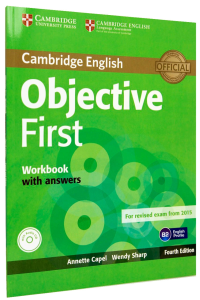 Objective First 2015 Workbook with Answers with Audio CD