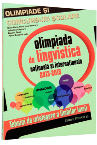 Olimpiada de lingvistica nationala si internationala 2013-2015
