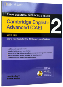 Exam Essentials Cambridge Advanced Practice Test 2 with Key + CD. 2015 Exam