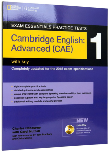 Exam Essentials Cambridge Advanced Practice Test 1 with Key + CD