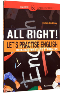 All right! Let's practise English. Workbook for 5th and 6th formers