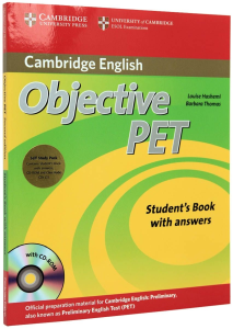 Objective PET Student's Book with Answers & CD-ROM and Audio CDs(3)