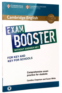 Exam Booster for Key (KET) & Key for Schools (KET4S) without Answer Key with Audio Download