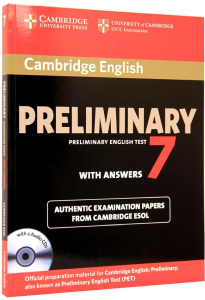 Cambridge Preliminary (PET) 7 Tests with answers