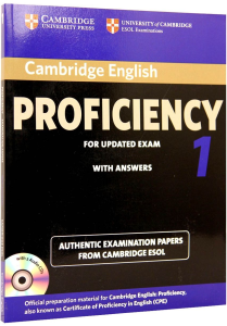 Cambridge Proficiency (PET) 1 Tests with answers