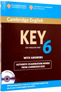 Cambridge KEY 6 Test with answers