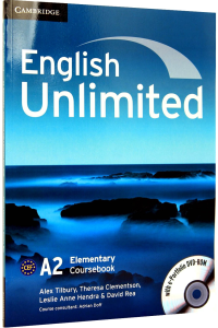 English Unlimited Elementary A2 Coursebook