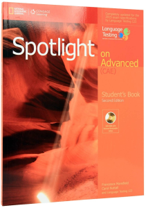 Spotlight on Advanced (CAE) Student's Book with DVD