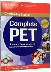 Complete PET Student's Book With Answers (CD-ROM and Class Audio CDs(2))