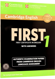 Cambridge English First 1 from 2015 Exam Student's Book Pack (Student's Book with Answers and Audio CDs (2))