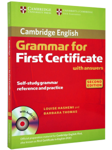 Cambridge Grammar for First Certificate (2nd Edition) with Answers and Audio CD