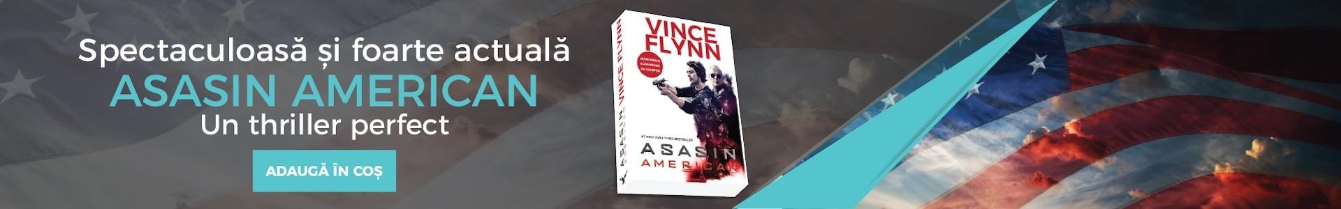 Asasin american | Vince Flynn | Seria Mitch Rapp volumul 1