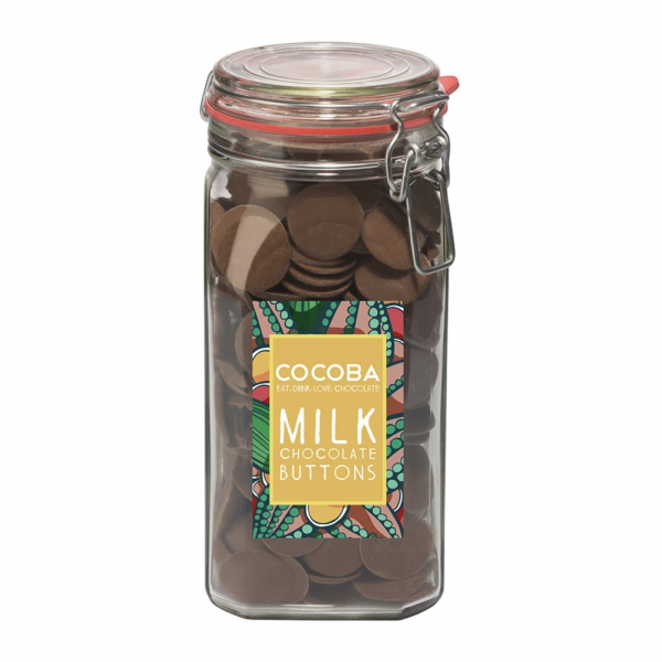Borcan gigant cu năsturei de ciocolată cu lapte 900G [0]