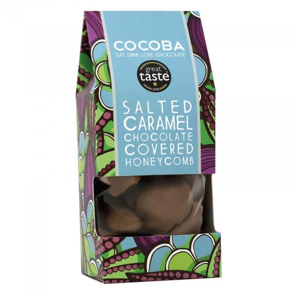 Fagure invelit in ciocolata cu lapte si caramel sarat 175G 0