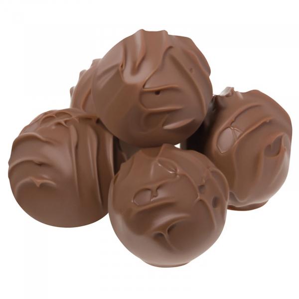 Trufe de ciocolata cu lapte in cutie metalica 120G 1