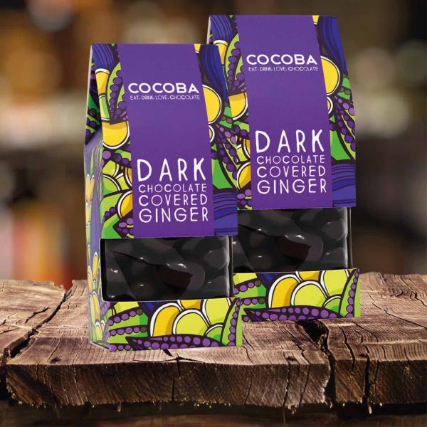 Ghimbir învelit în ciocolată neagră 175G 3
