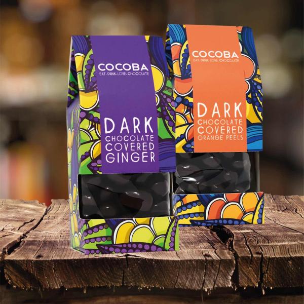 Ghimbir învelit în ciocolată neagră 175G 4