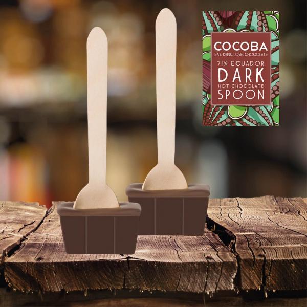 Lingura ciocolata calda - Cacao Ecuador 71% 50G 2