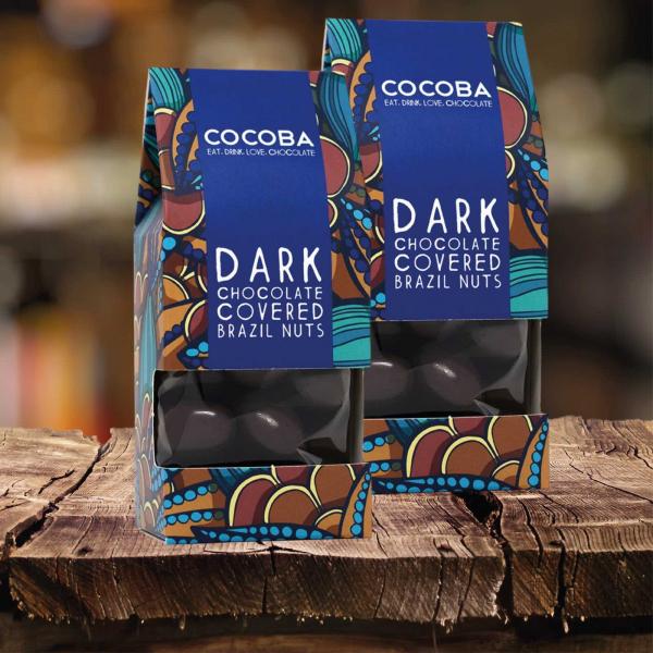 Nuci braziliene invelite in ciocolata neagra 175G 3