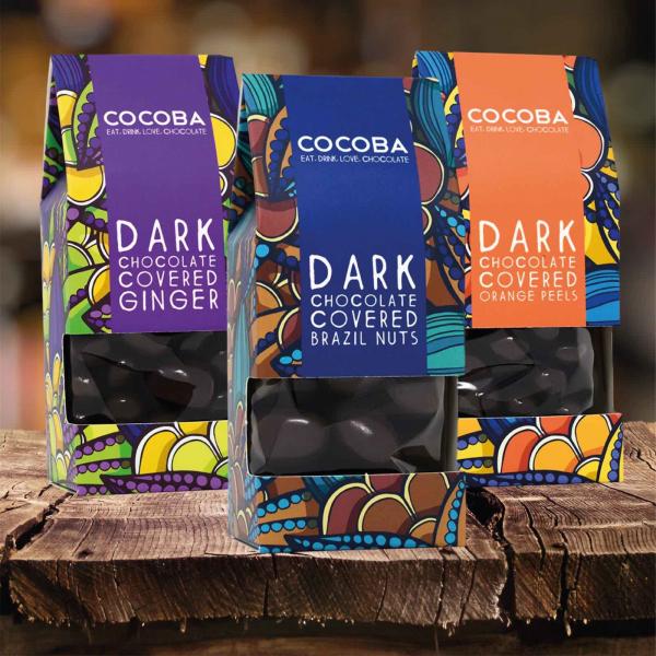 Nuci braziliene invelite in ciocolata neagra 175G 5