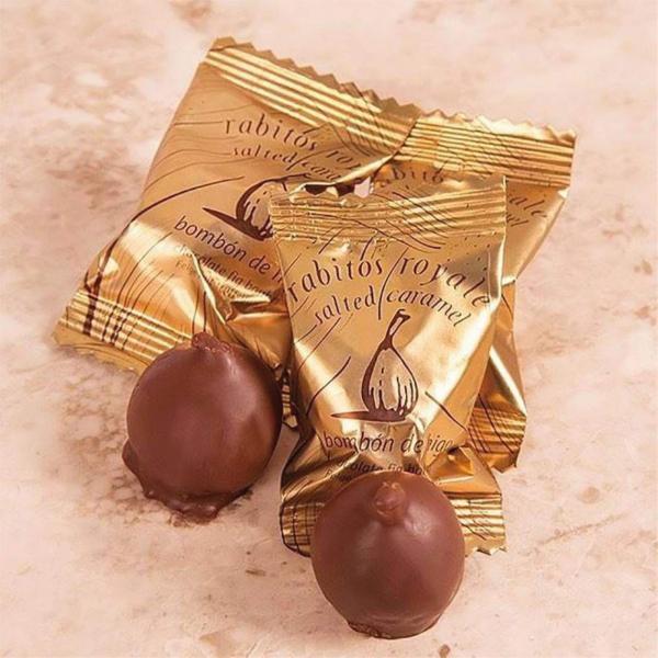 Smochine in ciocolata cu caramel sarat 47G 1