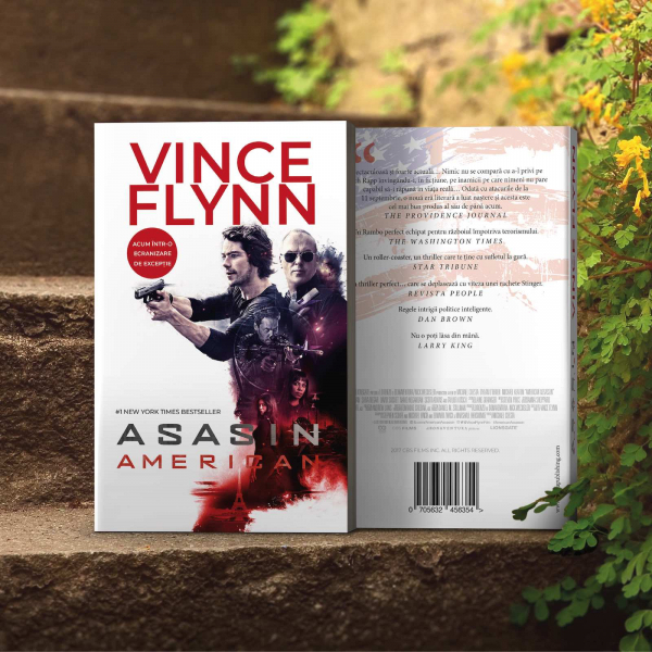 Asasin american, de Vince Flynn 5