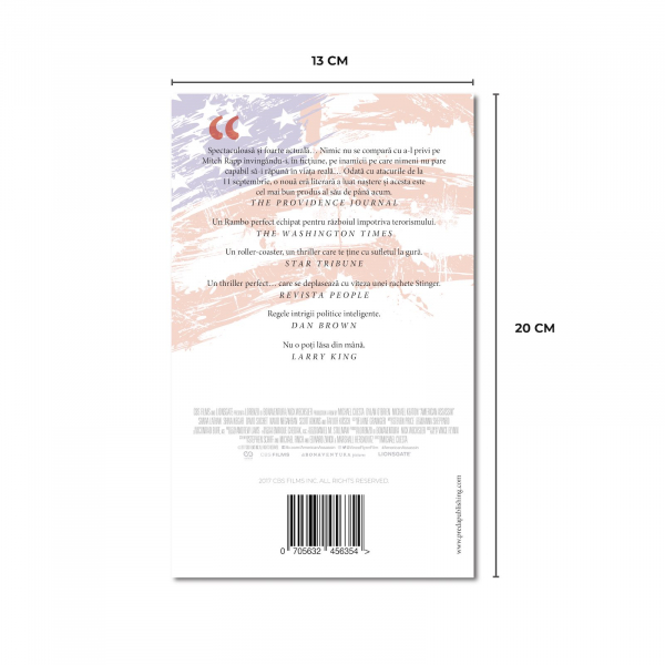 Asasin american, de Vince Flynn 2