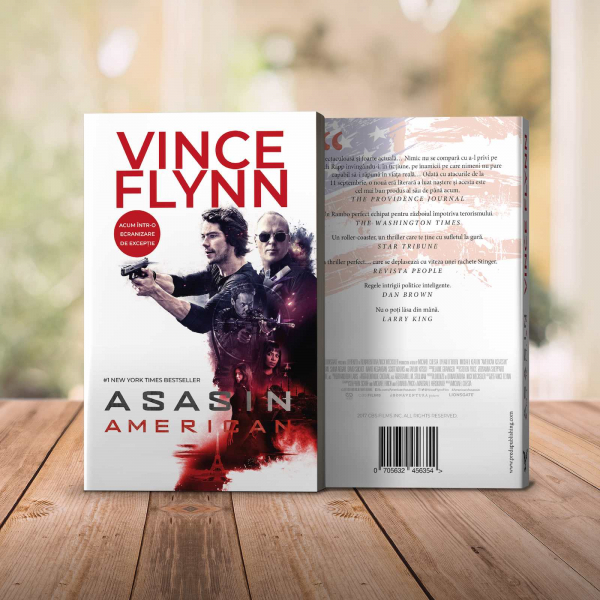 Asasin american, de Vince Flynn