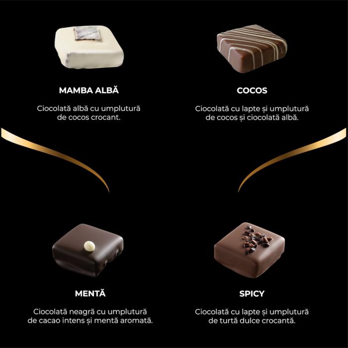 Asortiment premium 9 praline de ciocolata cu umplutura 1