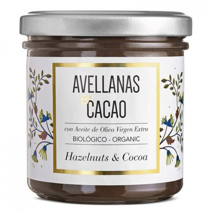 Crema de ciocolata organica cu alune de padure 150G [0]