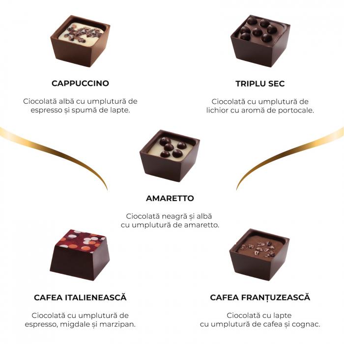 Asortiment bomboane de ciocolata cu cafea 1