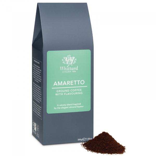 Cafea macinata cu aroma de amaretto 1