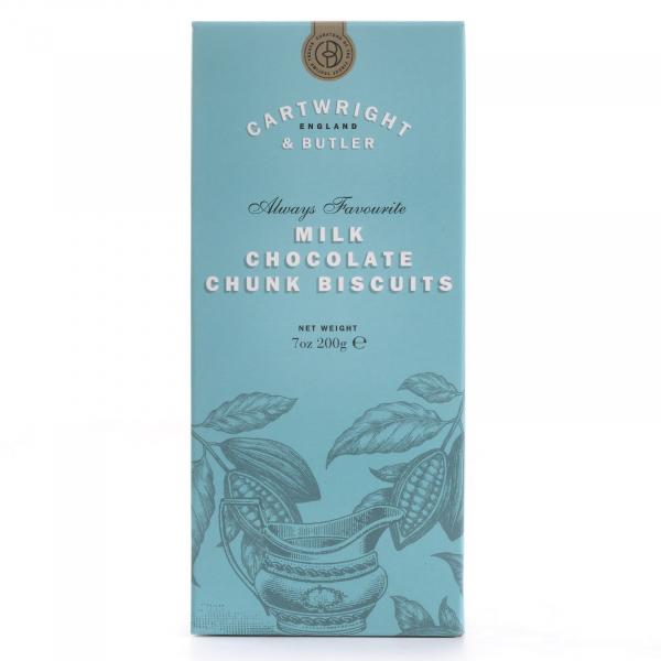 Biscuiti cu ciocolata cu lapte in cutie carton 200G 0