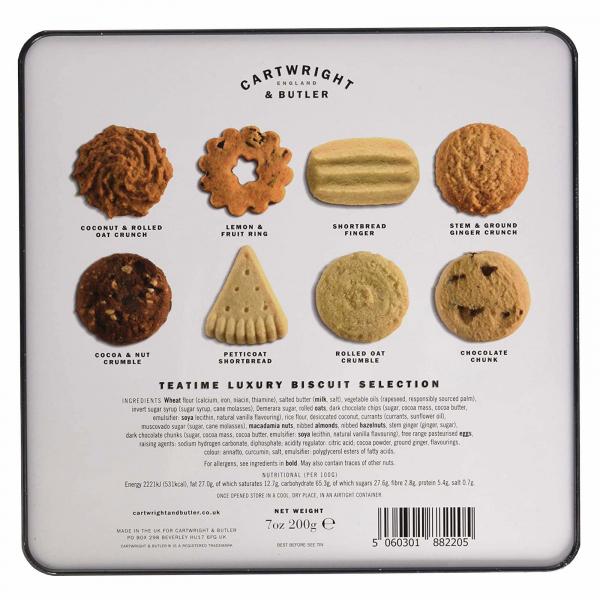 Cutie cadou cu asortiment de biscuiti 200G 2