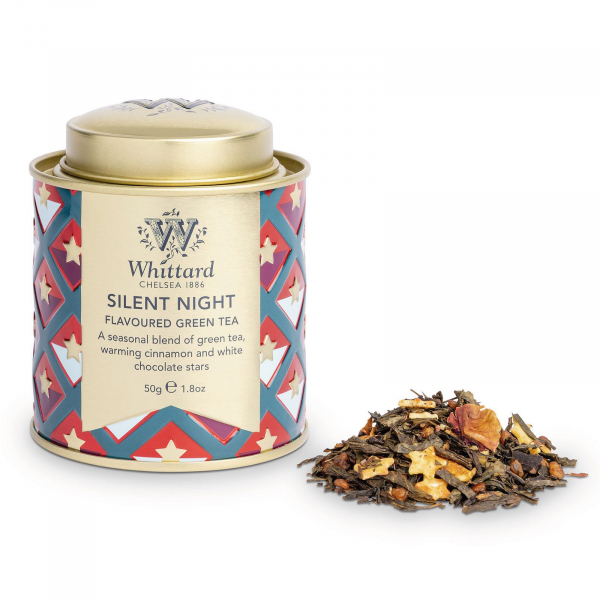Ceai Silent Night in cutie metalica mini 1