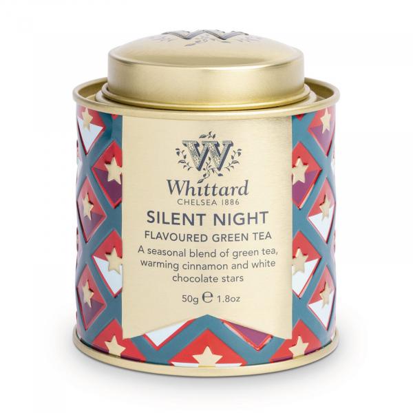 Ceai Silent Night in cutie metalica mini 0