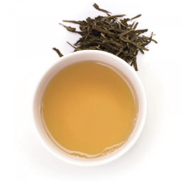 Ceai verde organic Gariguette cu capsuni si rubarba 100G 1