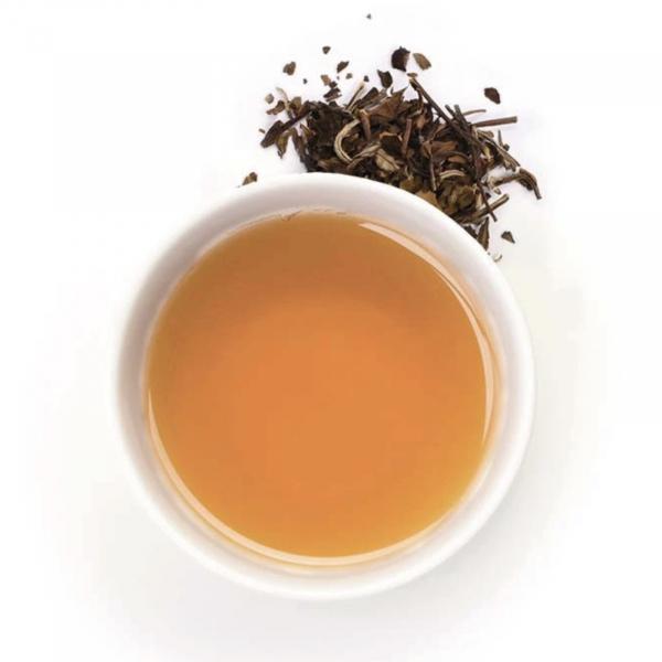 Ceai alb organic cu piersici si caise 40G 1