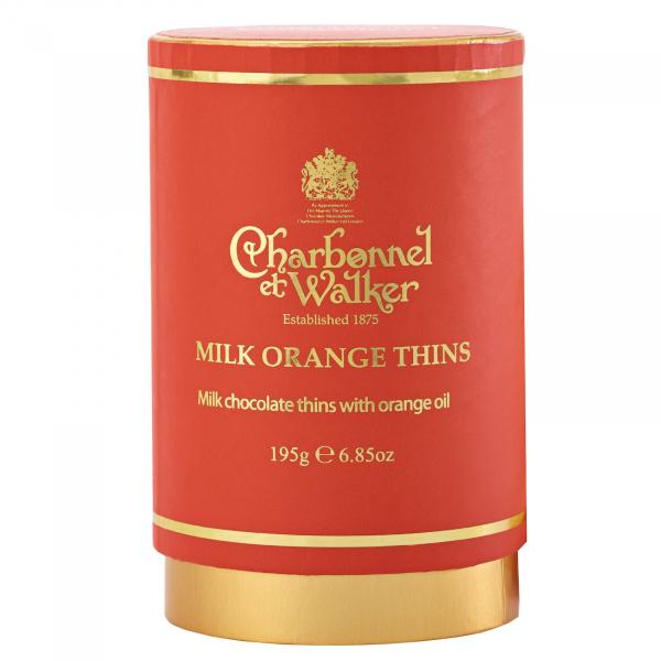 Discuri de ciocolata cu lapte si portocale 200G 0