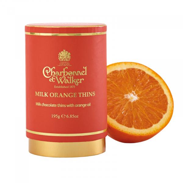 Discuri de ciocolata cu lapte si portocale 200G 5