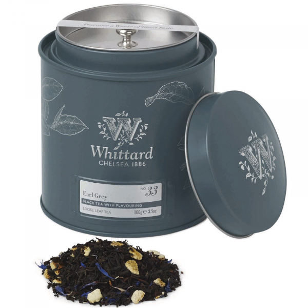 Earl Grey - ceai negru in cutie metalica 0