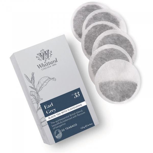 Earl Grey - ceai negru cu bergamota 25 pliculete 0