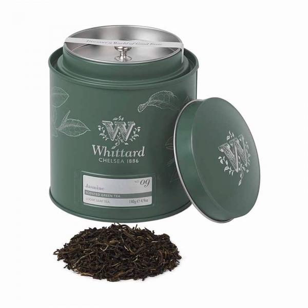 Jasmine - ceai verde cu iasomie in cutie metalica 0